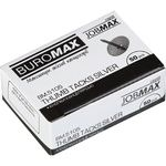 Кнопки никелированные Buromax Jobmax 50шт