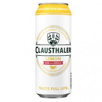 Пиво Clausthaler Lemon 500мл