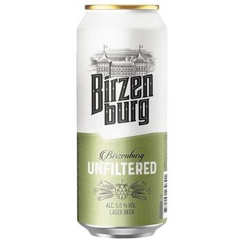 Пиво Birzenburg Nefiltruotas 500мл