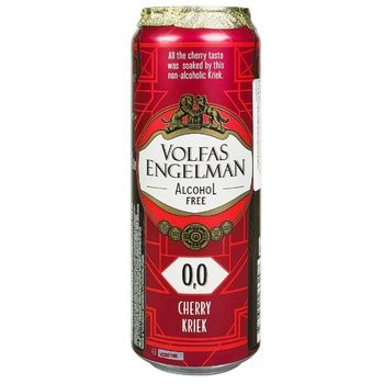 Пиво Volfas Engelman Vishneu Kriek 568мл