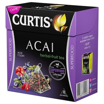 Чай Curtis Acai Fruit Tea 18 пірамідок