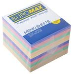 Блок бумаги для заметок Buromax ассорти 90х90мм