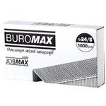 Скобы BuroMax для степлера №24/6 1000шт