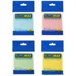 Бумага для заметок Buromax BM.2312-99 с клейким слоем 76x76мм 100шт