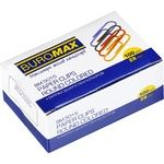 BuroMax Paperclips 28mm colored, 100pcs