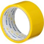 Скотч Buromax пакувальний жовтий 48мм*35м