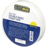 Скотч двухсторонний BuroMax 24мм*2м на вспененной основе