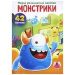 First Developmental Stickers Monsters Book