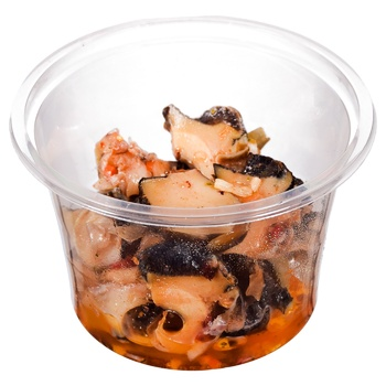 Seafood rapany with spices pickled