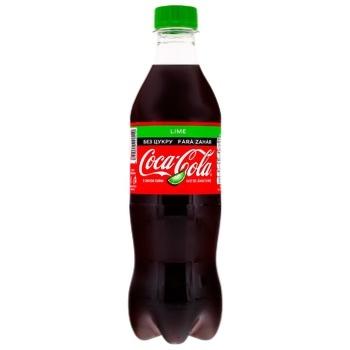 Coca-Cola Zero Lime Carbonated Drink 0,5l