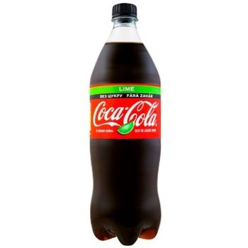 Coca-Cola Zero Lime Carbonated Drink 1l