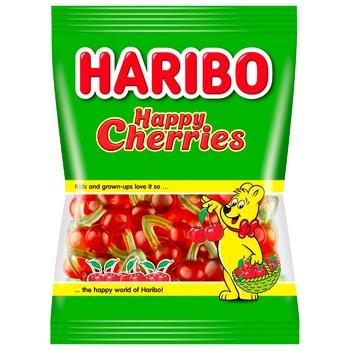 Цукерки Haribo Happy Cherries желейні 80г