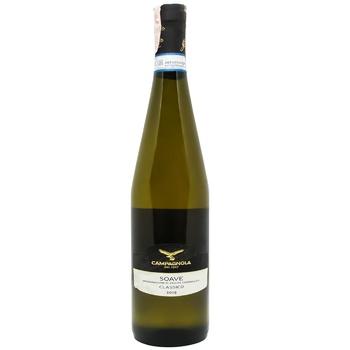 Вино Campagnola Soave Classico белое сухое 12,5% 0,75л