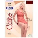Колготы Conte Nuance женские 40den mocca 5 размер