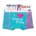 Колготи дит. бавовняні Conte Kids TIP-TOP (веселі ніжки) 14С-79СП р.62-74 (12) 355 бірюза-рожевий