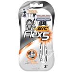 Станки для бритья BIC Flex 5 Dispo для мужчин 3 шт