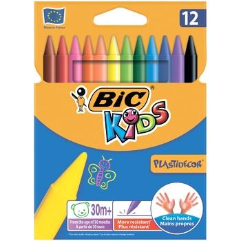 ВІС Plastidecor Assorted Colored Crayons 12pcs