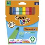 Фломастеры BIC Kids Visacolor XL 8шт