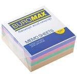 Блок бумаги для заметок Buromax белый 90х90х40мм