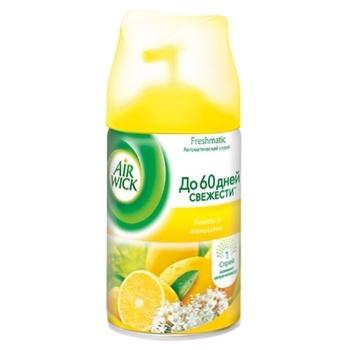 Сменный аэрозольный баллон к Air Wick Freshmatic Лимон и женьшень 250мл