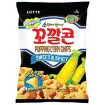 Чіпси Lotte Sweet & Spicy кукурудзяні 72г