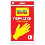 Перчатки Бонус резиновые универсальные L