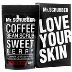 Скраб для лица и тела Mr.Scrubber Sweet Berry кофейный для всех типов кожи 200г