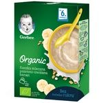 Каша молочна Gerber Organic Пшенично-вівсяна з бананом 240г