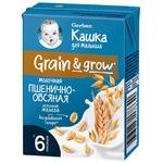 Каша Gerber рідка пшенично-вівсяна молочна 200г