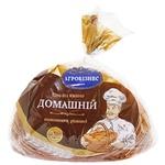 Хлеб Агробизнес Домашний половинка нарезка 650г Украина