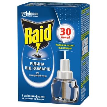 Raid For Fumigants Against Mosquito Liquid 30 Nights 220ml