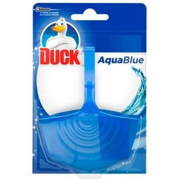 Підвісний очищувач для унітазу Duck Aqua Синій 4в1 40г