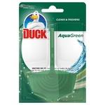 Подвесной очиститель для унитаза Duck Aqua Зелений 4в1  40г