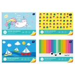 Colored One-Sided Cardboard Set A4 10 Colors assortment