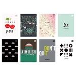 Interdruk Notebook A5 60 Sheets Checkered assortment