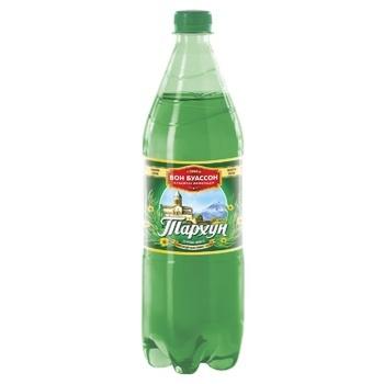 Напиток Бон Буассон Тархун сильногазированный 1л - купить, цены на Ашан - фото 1