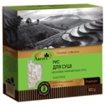 Avgust Round Rice for Sushi with Pink Himalayan Salt 400g