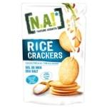 Крекеры Nature Innovation рисовые с морской солью 70г