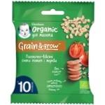 Снек Gerber Organic пшенично-овсяный с томатом и морковью для детей с 10 месяцев 7г