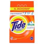 Стиральный порошок Tide Альпийская свежесть автомат 1,5кг