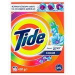 Tide Color Lenor Touch of Scent Automat Laundry Powder Detergent 450g