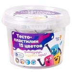 Набір для дитячого ліплення Тісто-пластилін 15 кольорів