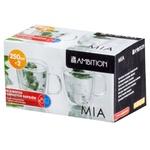 Cup Ambition glass 2pcs 250ml Poland