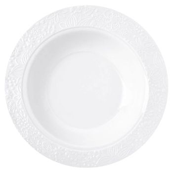 Plate Krauff white deep 22cm Germany