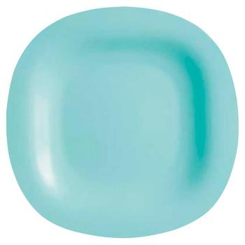 Тарілка обідня Luminarc Carine Light Turquoise 270 мм P4127