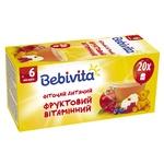 Фіточай Bebivita фруктовий вітамінний для дітей з 6 місяців 30г