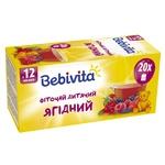 Фиточай Bebivita ягодный для детей с 12 месяцев 30г