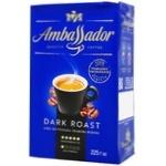 Ambassador Dark Roast Ground Coffee 225g