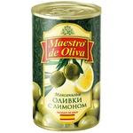 Maestro de Oliva Olives with Lemon 280g