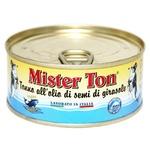 Тунець Mister Ton в соняшниковій олії 160г